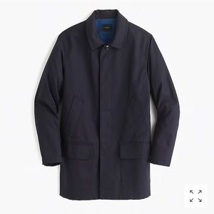 NWOT J.Crew Ludlow Water-Repellent Mac Trench Coat